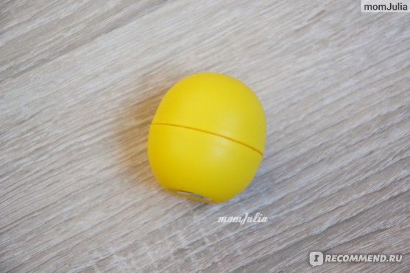EOS lip balm Lemon drop photo