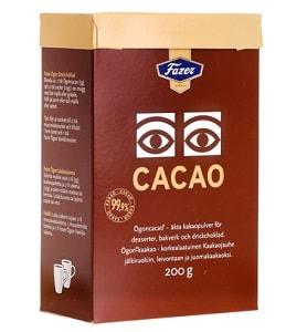 Какао в пачке
