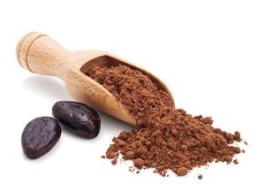 Какао бобы и порошок