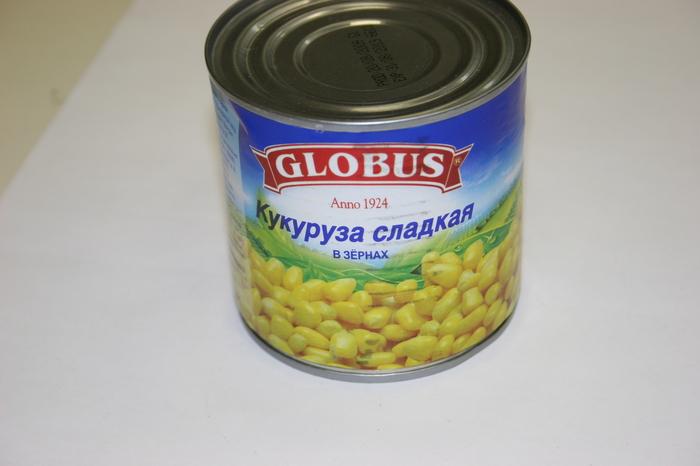 Хранение консервированной кукурузы
