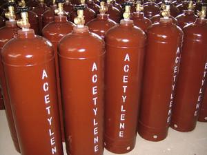 Сколько хранится газ в емкости?