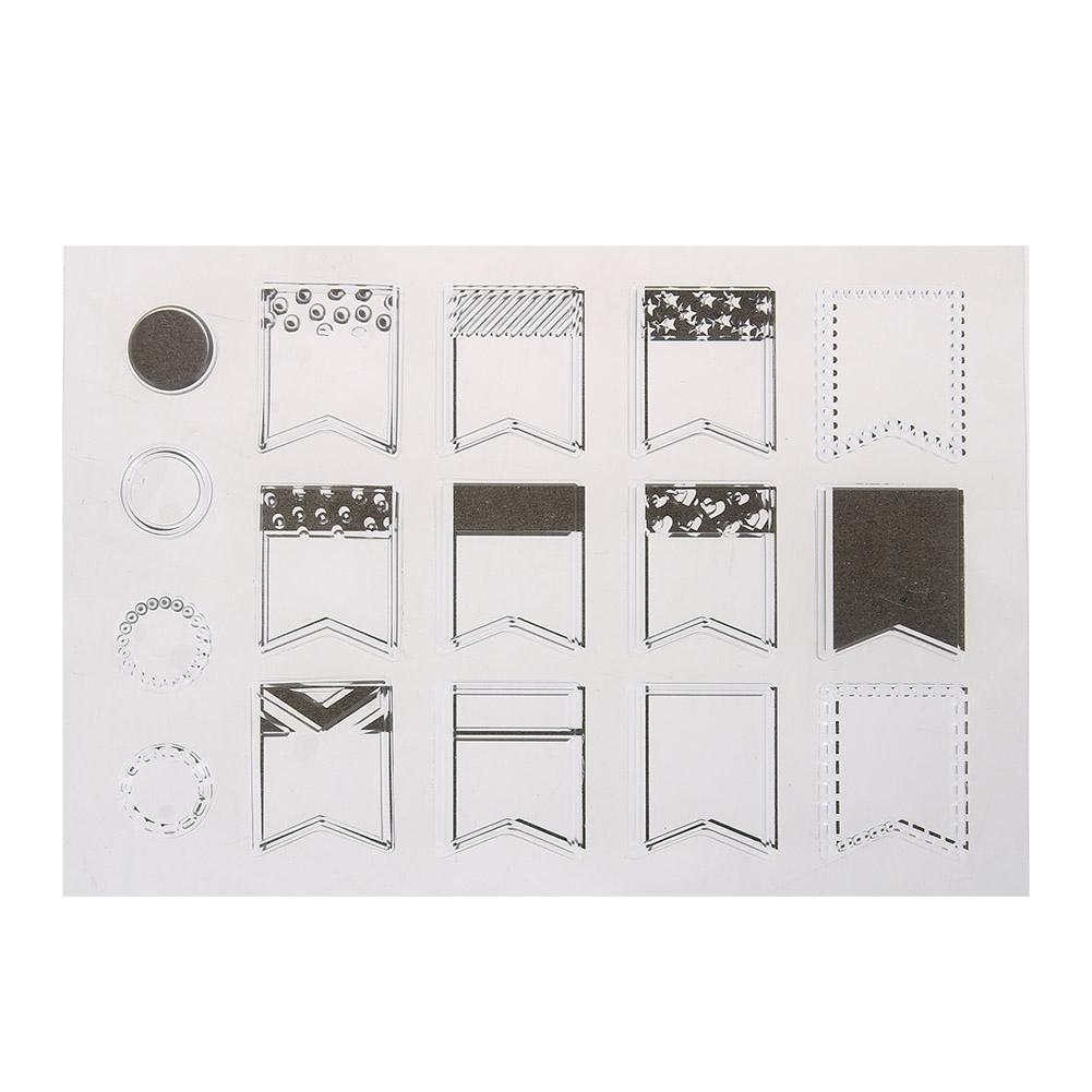 Ежедневно Mark прозрачный силиконовый штамп печать для DIY Скрапбукинг/фотоальбом Декоративные Ясно Stamp Простыни детские