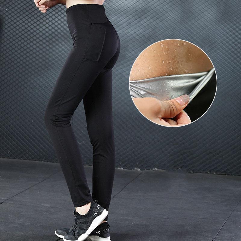Новый Дизайн Для женщин Леггинсы для женщин встроенный серебряное покрытие ускорить пота тонкий леггинсы Брюки для девочек женские Фитнес тренировки спортивных