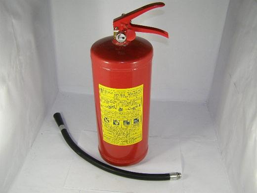 На снимке представлен газогенераторный порошковый огнетушитель