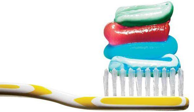 зубная паста фирмы